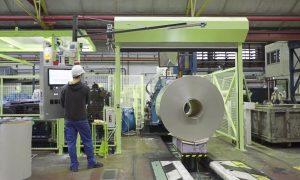 Referenz – Industrie –Film – Auszug – Anlauf Maschine