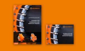 Referenz – Industrie – Broschüre, Lieferprogramm groß und mini