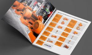 Referenz – Industrie – Broschüre, Lieferprogramm Inhaltsübersicht