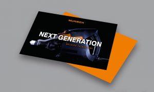 Referenz – Industrie – Flyer zur Produkteinführung